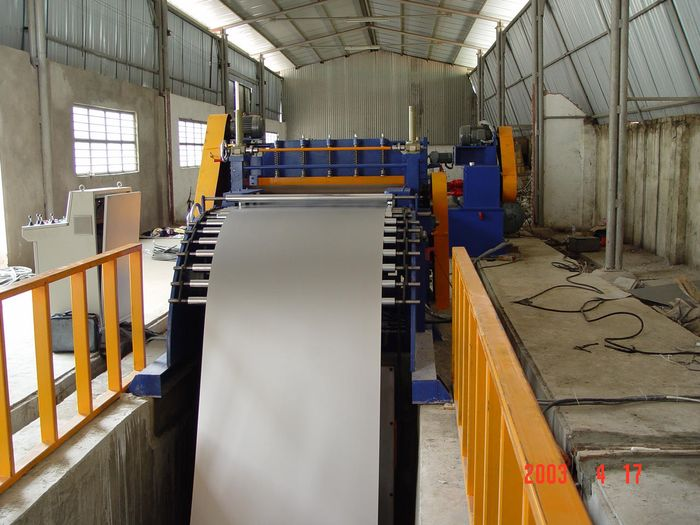 Steel Metal Cut to Length Machines