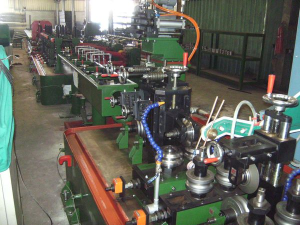 stainless steel tube making machine