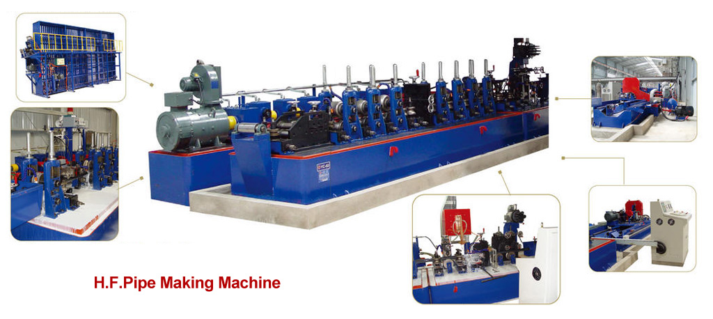 tube making machine, tube bending equipment, pipe bending machine, roll forming equipment