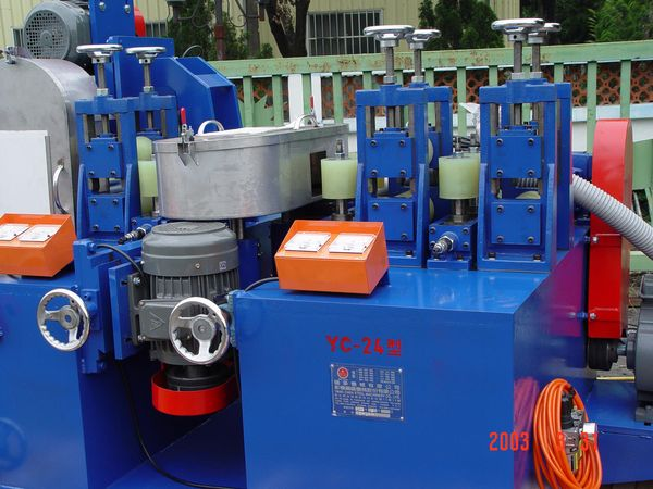 square tube polishing machine,