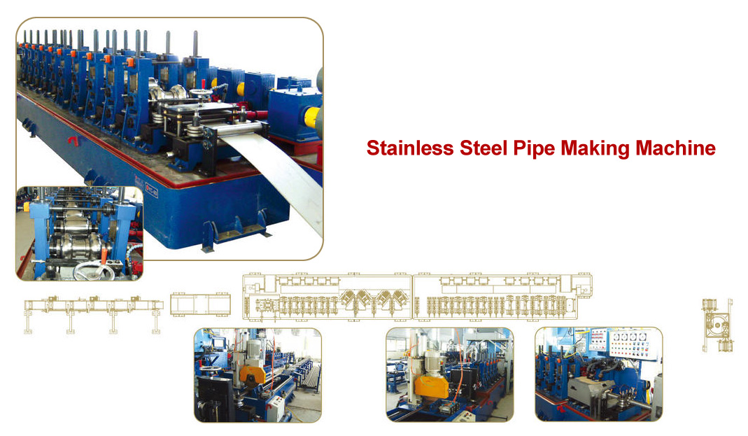 steel pipe making machine, pipe machinery
